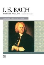 Alfred J.S. Bach 18 Short Preludes for the Keyboard, CD