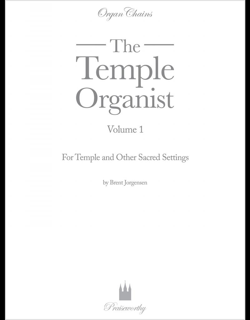 Jackman Music Organ Chains Temple Organist Volume 1 arr. Brent Jorgensen