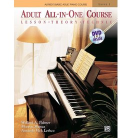 Alfred Alfred's Adult All-in-One Course, Book 1 Book/DVD