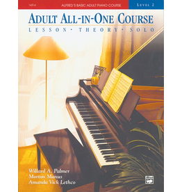 Alfred Alfred's Basic Adult All-in-One Course, Book 2