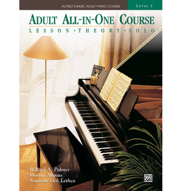 Alfred Alfred's Adult All-in-One Course, Book 3