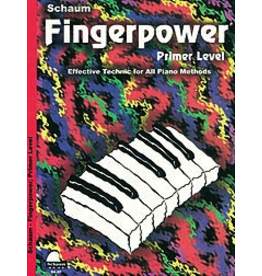 Hal Leonard Schaum Fingerpower Primer Level