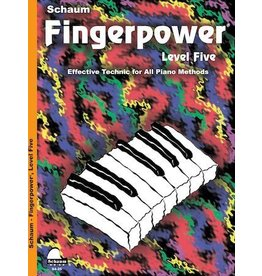 Hal Leonard Schaum Fingerpower Level 5