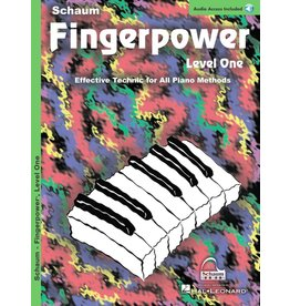 Hal Leonard Schaum Fingerpower Level 1