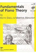 Kjos Fundamentals of Piano Theory, Level 9 Keith Snell