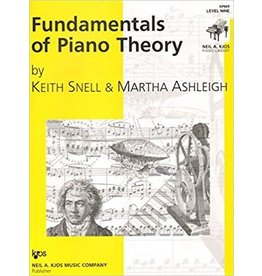 Kjos Fundamentals of Piano Theory, Level 9 Keith Snell