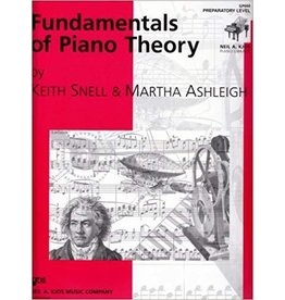 Kjos Fundamentals of Piano Theory, Preparatory Level Keith Snell