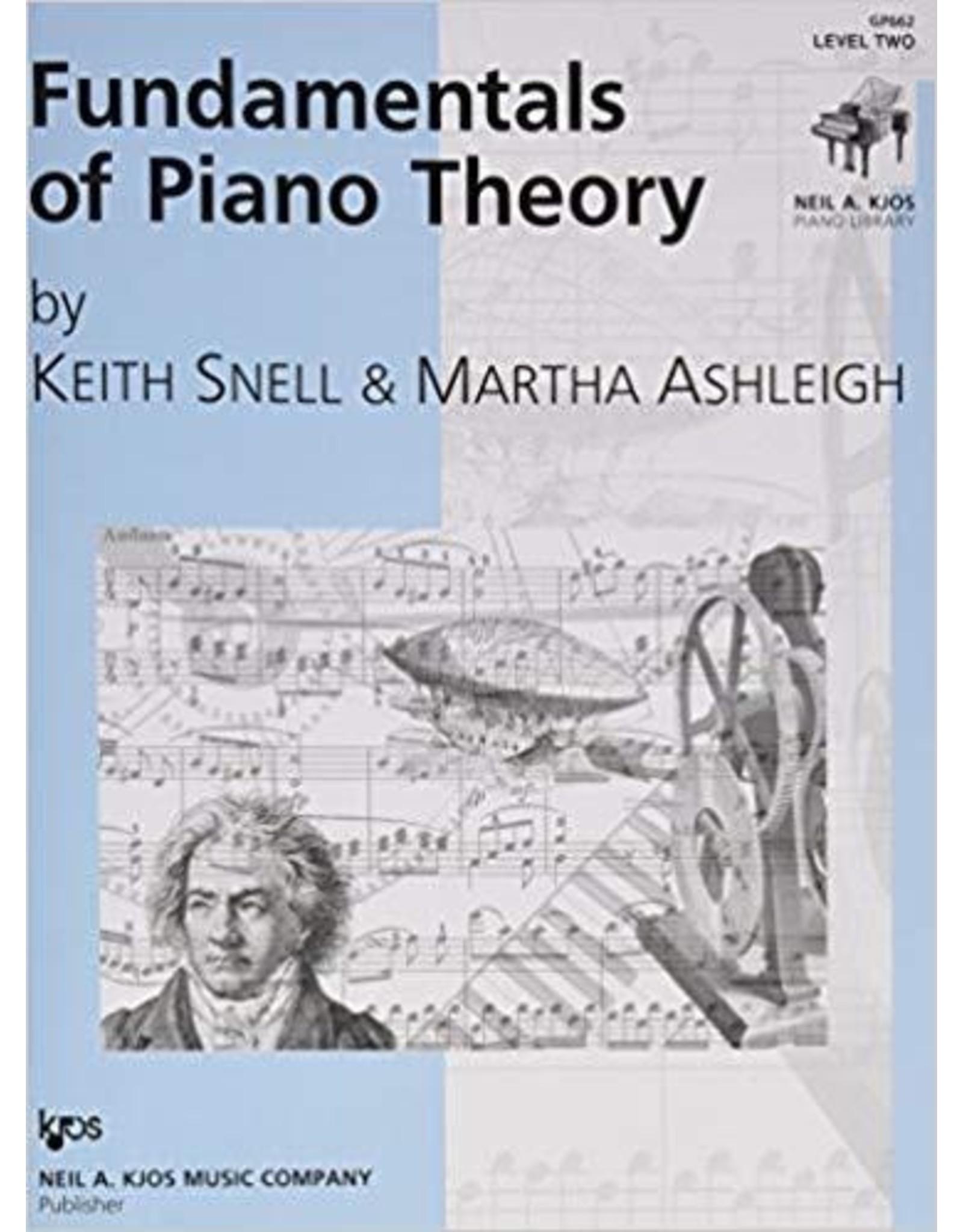 Kjos Fundamentals of Piano Theory, Level 2 Keith Snell