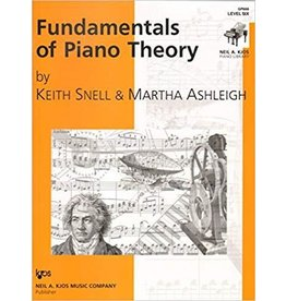 Kjos Fundamentals of Piano Theory, Level 6 Keith Snell
