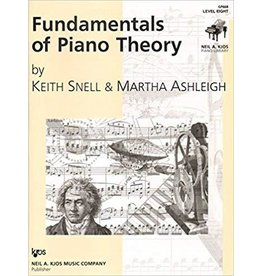 Kjos Fundamentals of Piano Theory, Level 8 Keith Snell