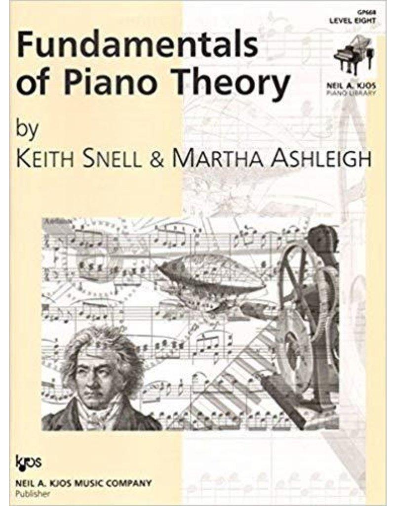 Kjos Fundamentals of Piano Theory, Level 8 Keith Snell