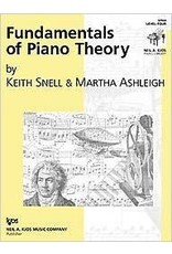 Kjos Fundamentals of Piano Theory, Level 4 Keith Snell