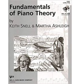 Kjos Fundamentals of Piano Theory, Level 5 Keith Snell