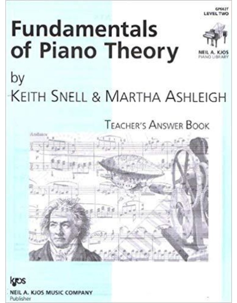 Kjos Fundamentals of Piano Theory, Level 2 Answer Book
