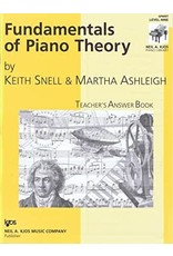 Kjos Fundamentals of Piano Theory, Level 9 Answer Book