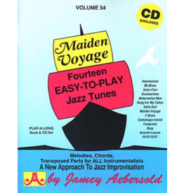 Jamey Aebersold Jazz Inc. Maiden Voyage Volume 54