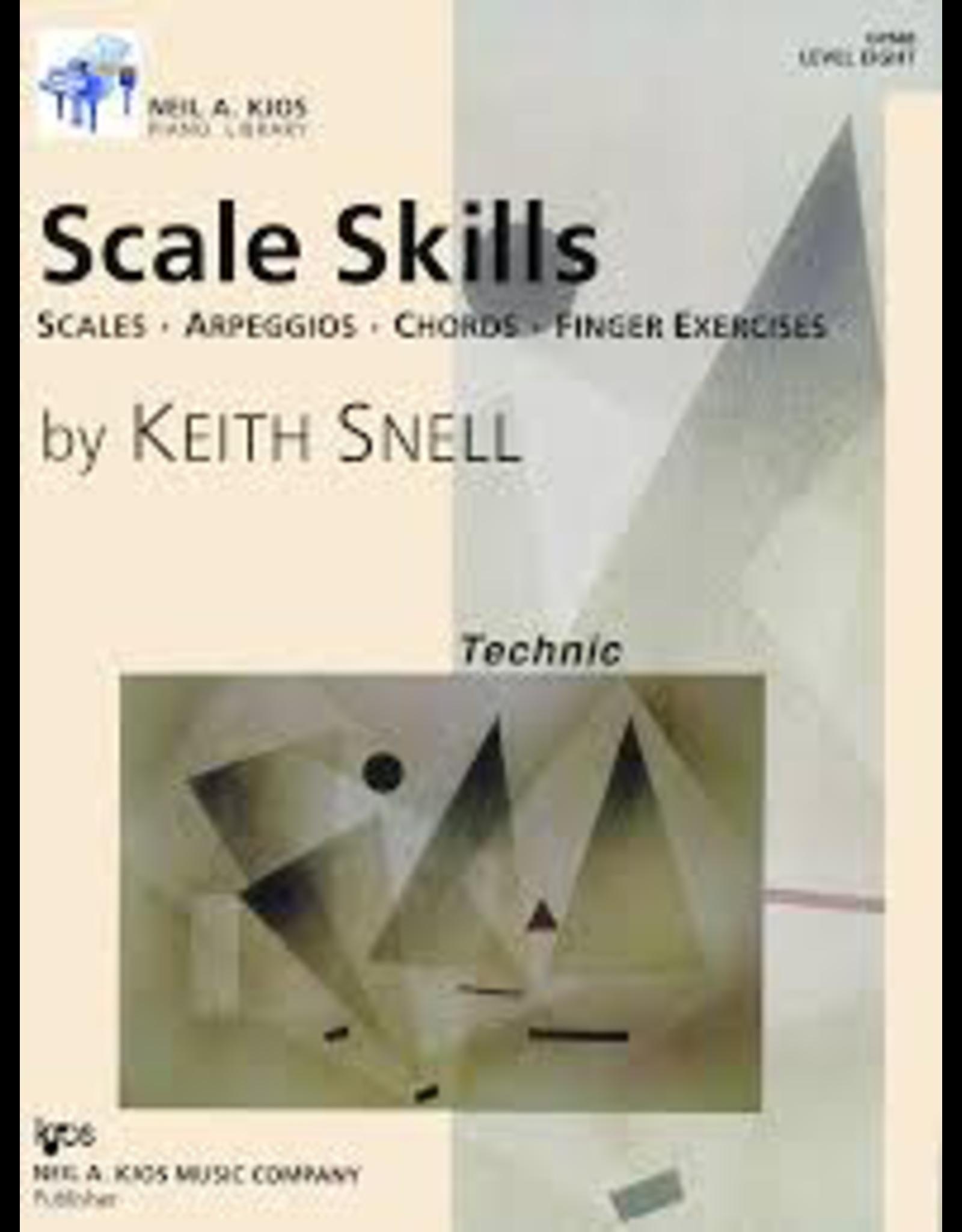 Kjos Scale Skills, Level 8