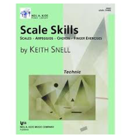 Kjos Scale Skills, Level 3Scales, Arpeggios, Chords, Finger Exercises
