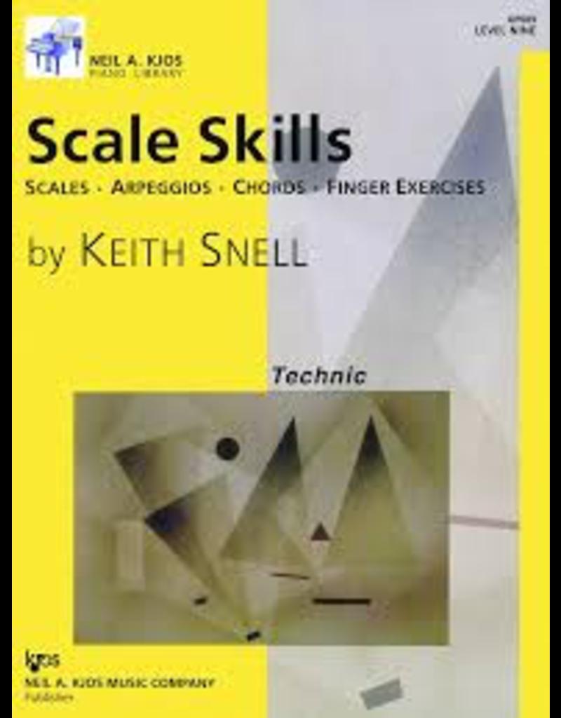 Kjos Scale Skills, Level 9