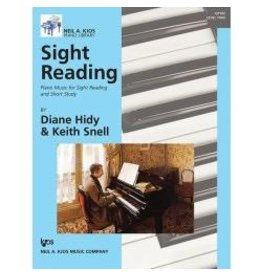 Kjos Sight Reading by Diane Hidy & Keith Snell Level 2