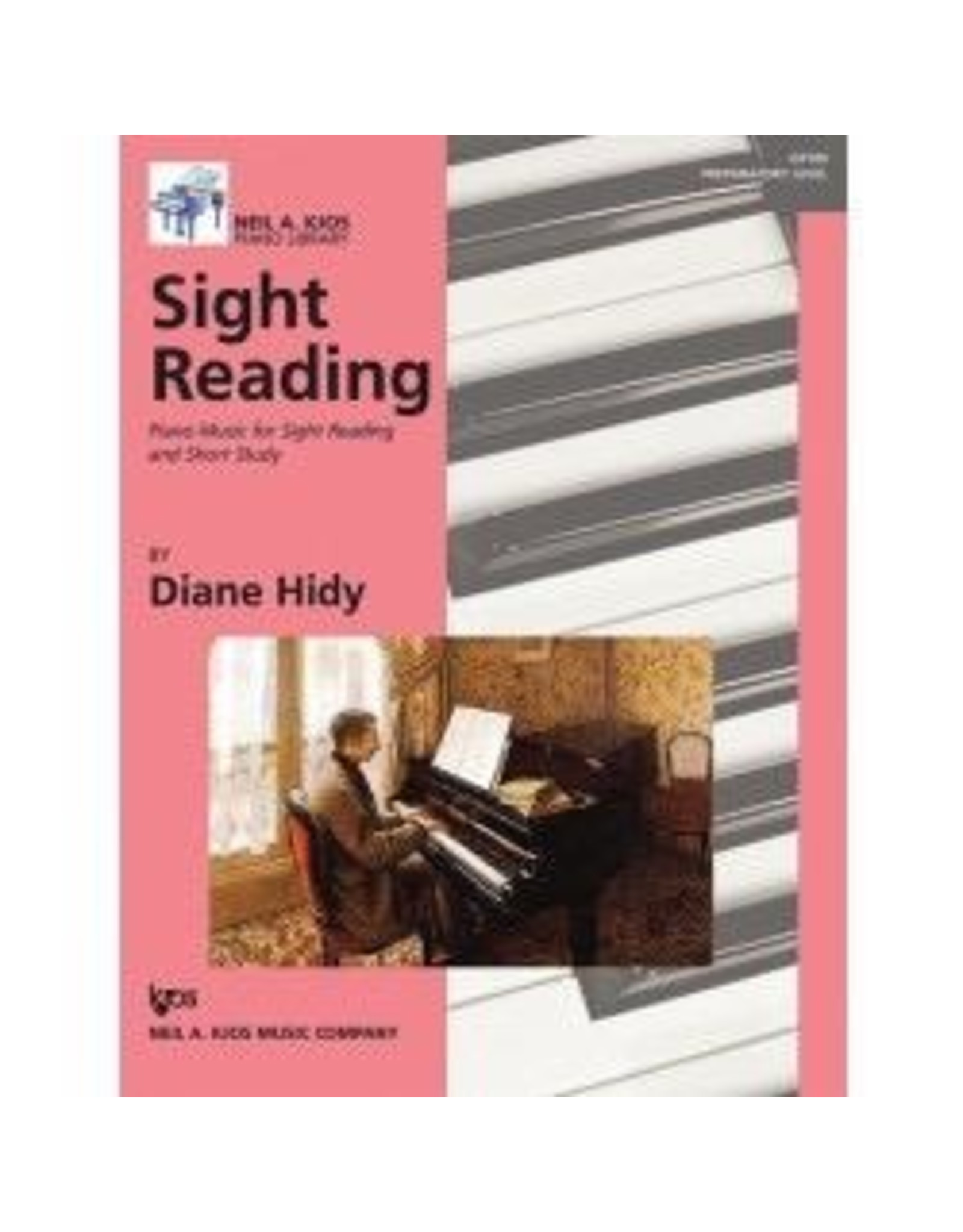 Kjos Sight Reading by Diane Hidy Prepatory Level