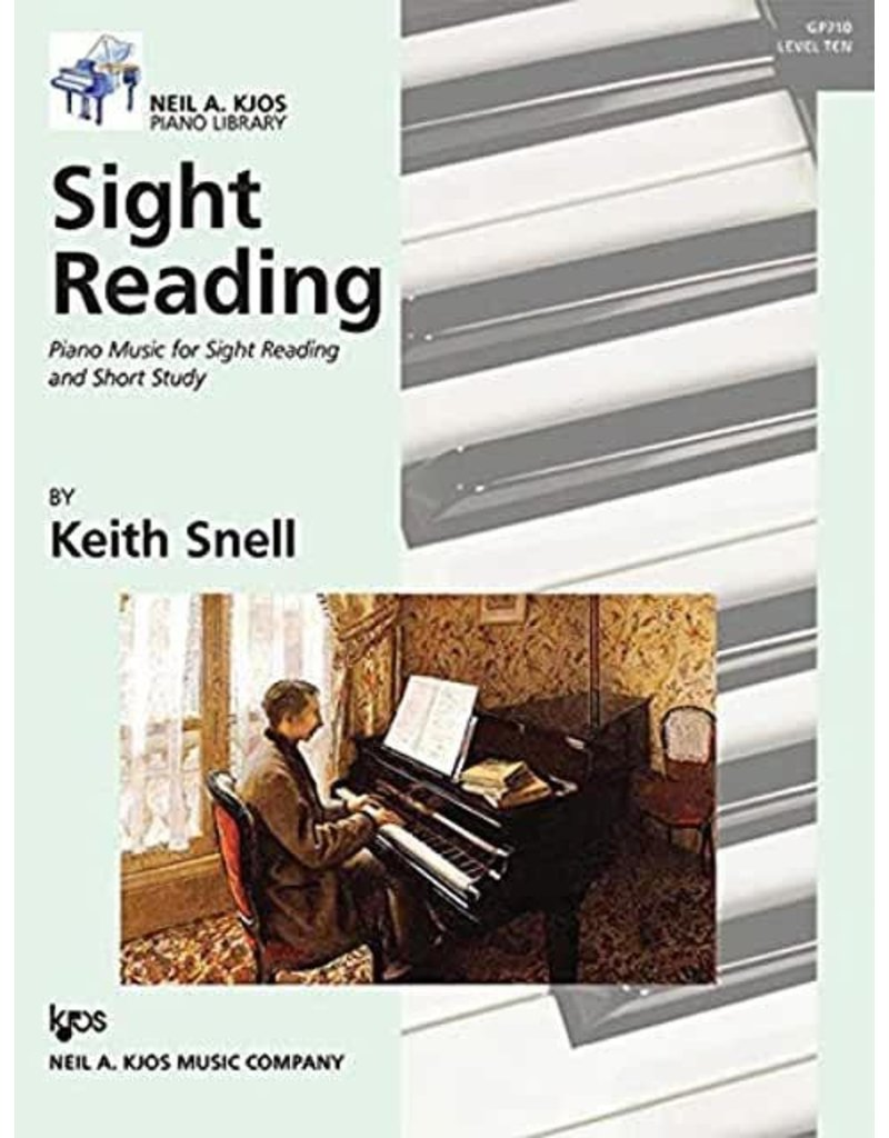 Kjos Sight Reading by Keith Snell Level 10