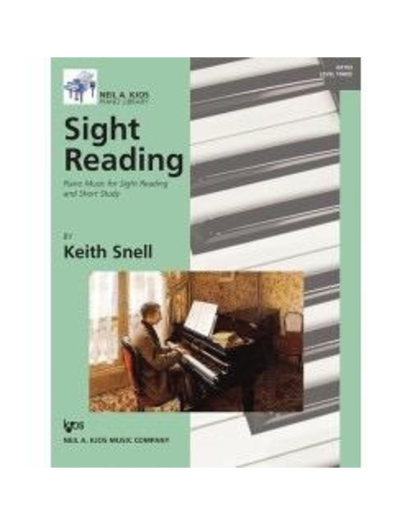 Kjos Sight Reading by Keith Snell Level 3