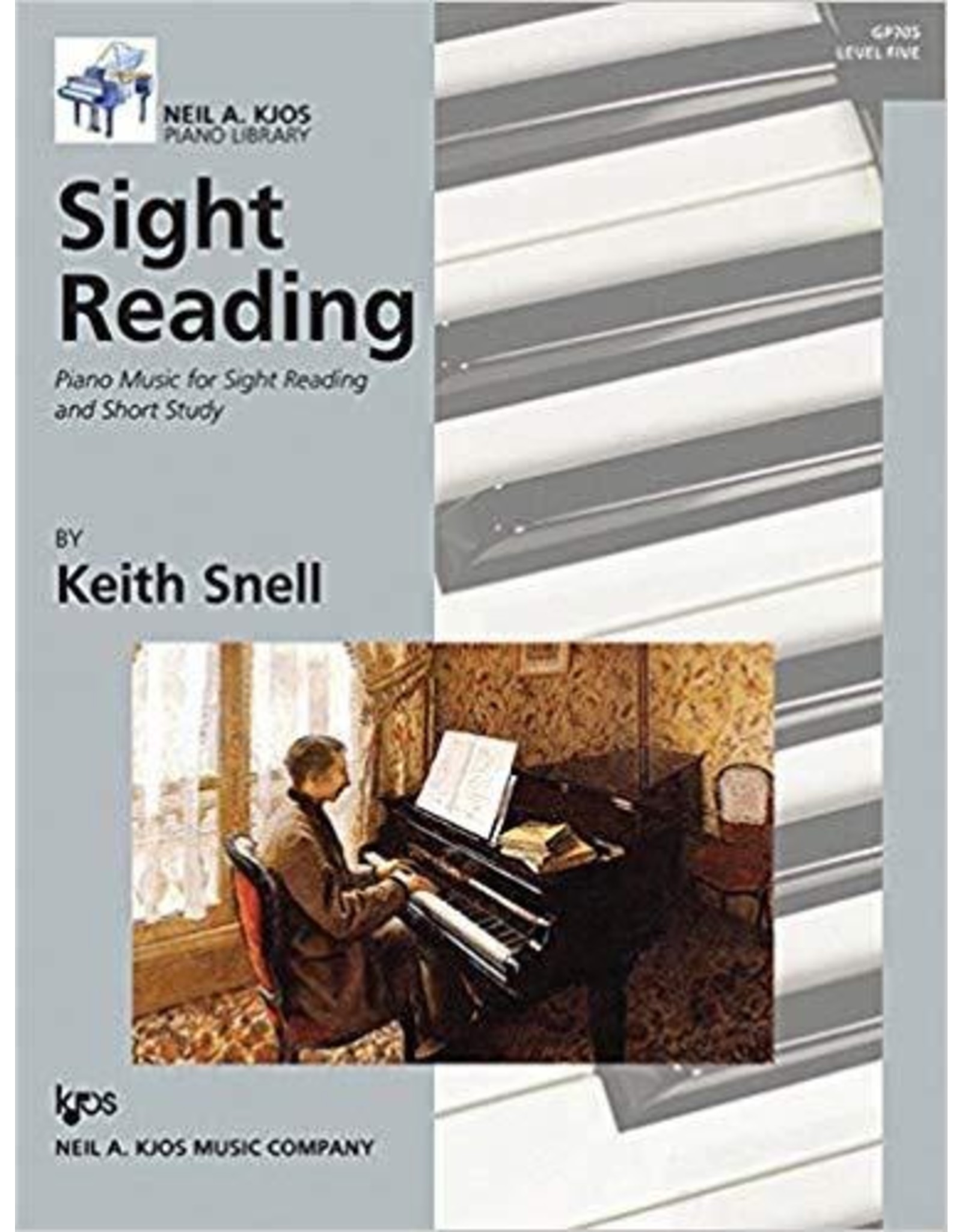 Kjos Sight Reading by Keith Snell Level 5