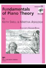 Kjos Fundamentals of Piano Theory, Prep Answer Book