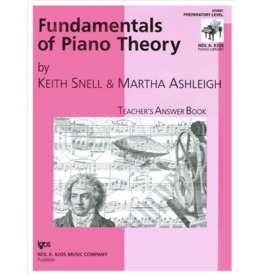 Kjos Fundamentals of Piano Theory, Prep Answer Book