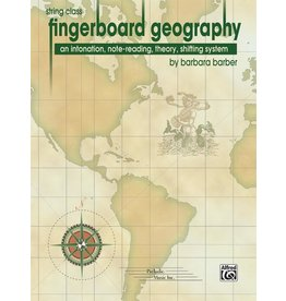 Alfred Fingerboard Geography for the String Class by Barbara Barber