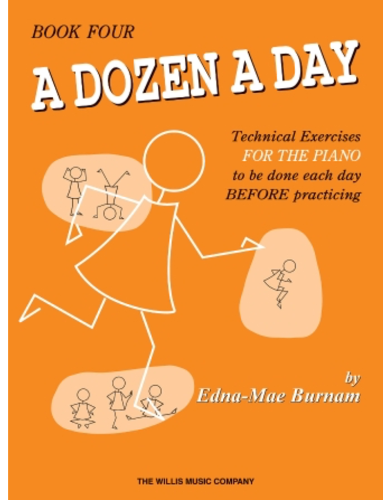 Hal Leonard Dozen a Day Technical Exercises, Book 4