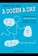 Hal Leonard Dozen a Day Technical Exercises, Prep Book