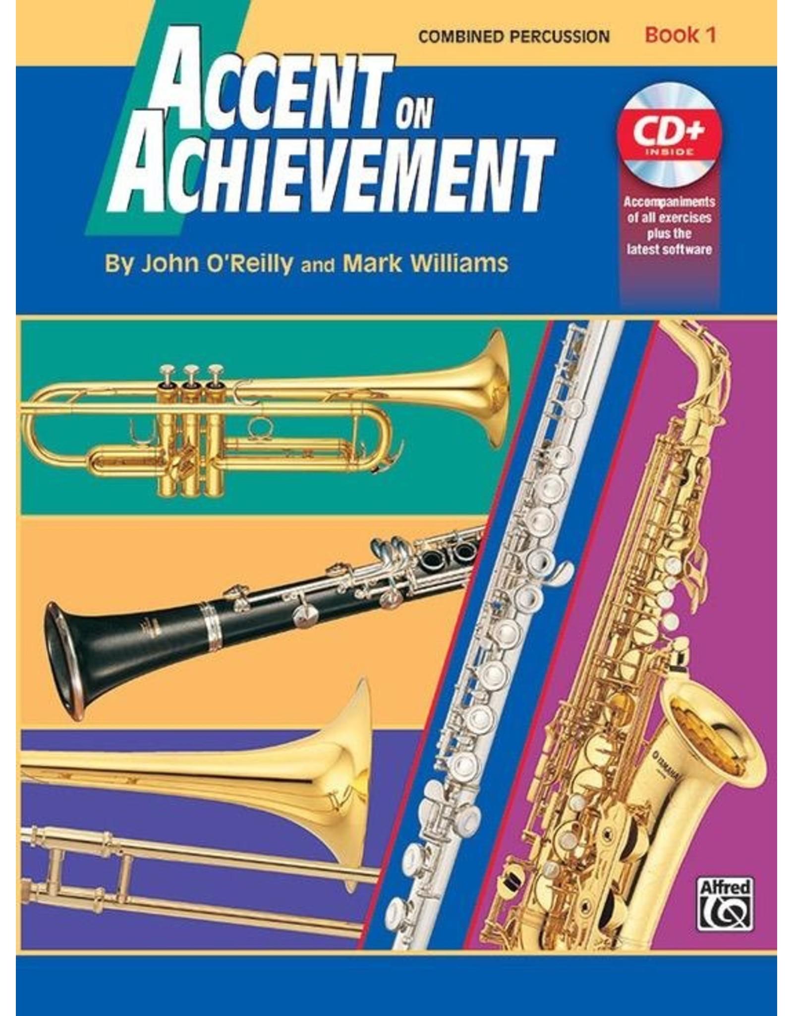Alfred Accent on Achievement, Book 1 Percussion