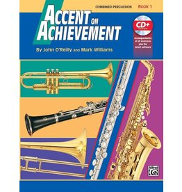 Alfred Accent on Achievement, Book 1 Percussion