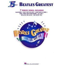 Hal Leonard Beatles Greatest 5 Finger