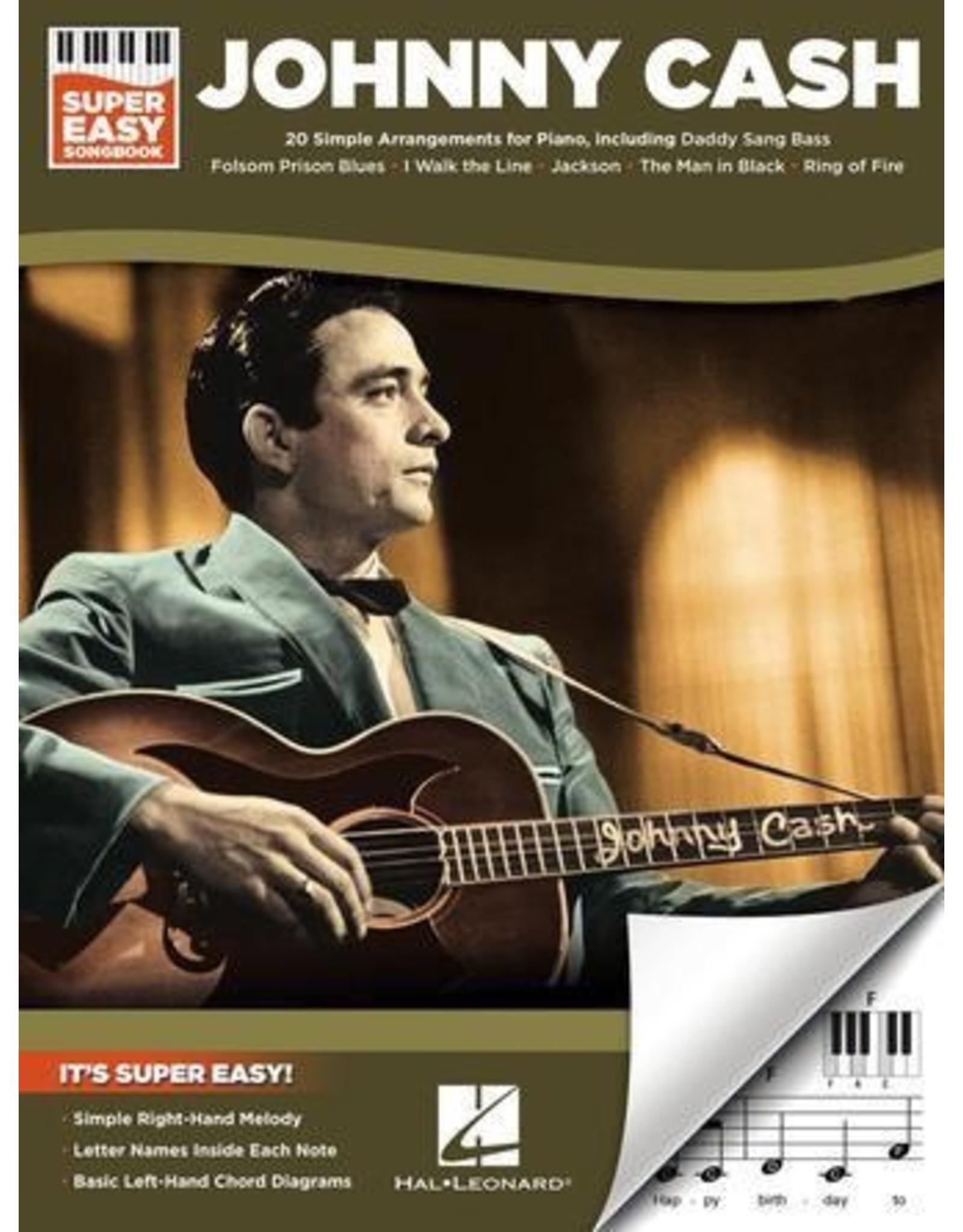 Hal Leonard Johnny Cash Super Easy Songbook