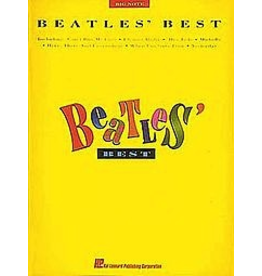 Hal Leonard Beatles Best - Big Note