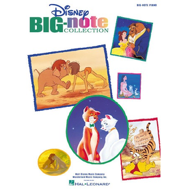 Hal Leonard Disney Big Note Collection - Easy Piano