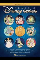 Hal Leonard Classic Disney Songs Big Note