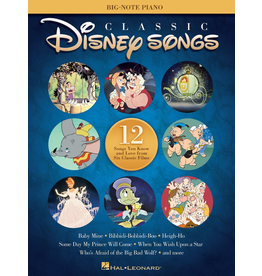 Hal Leonard Classic Disney Songs Big Note