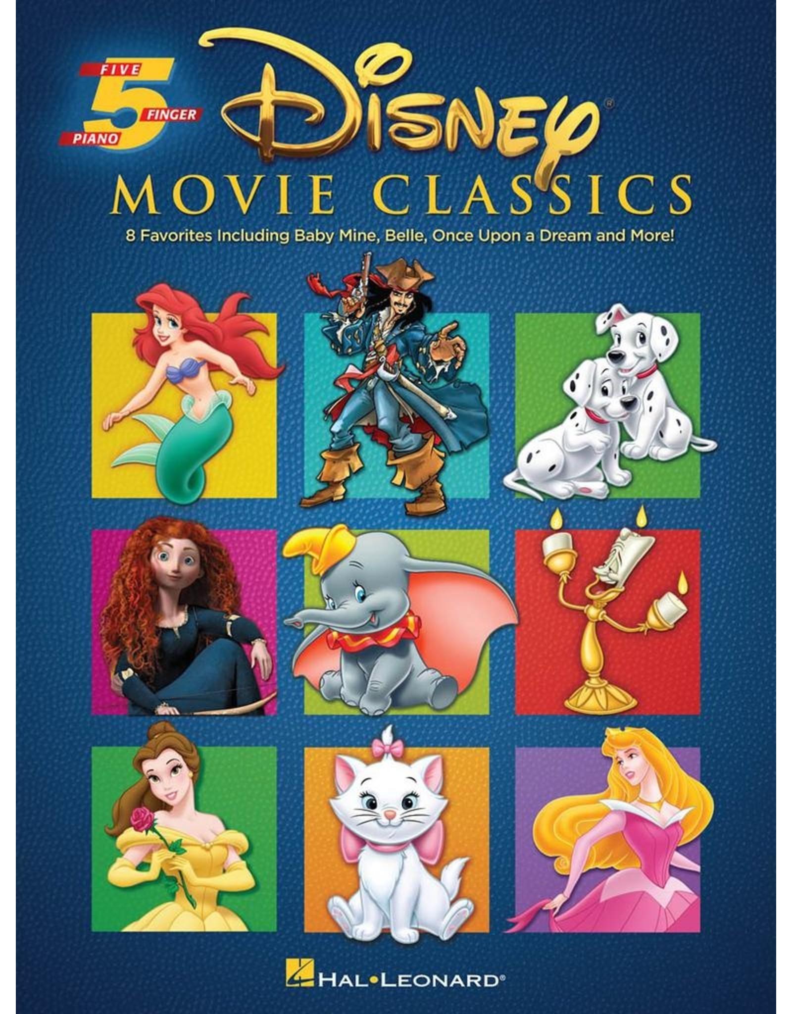 Hal Leonard Disney Movie Classics 5 Finger