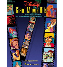 Hal Leonard Disney's Giant Movie Hits for Big-Note Piano