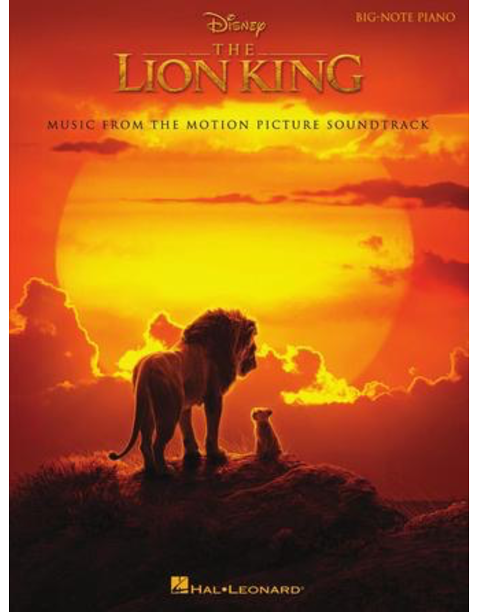 Hal Leonard The Lion King Big Note Piano - Music from the Disney Motion Picture Soundtrack