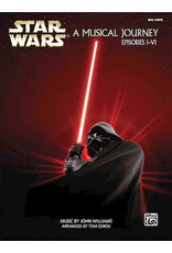 Hal Leonard Star Wars -- A Musical Journey Episodes I-VI (Big Note Piano)