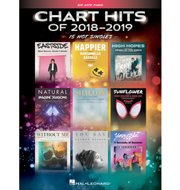 Hal Leonard Chart Hits of 2018-2019 Big Note