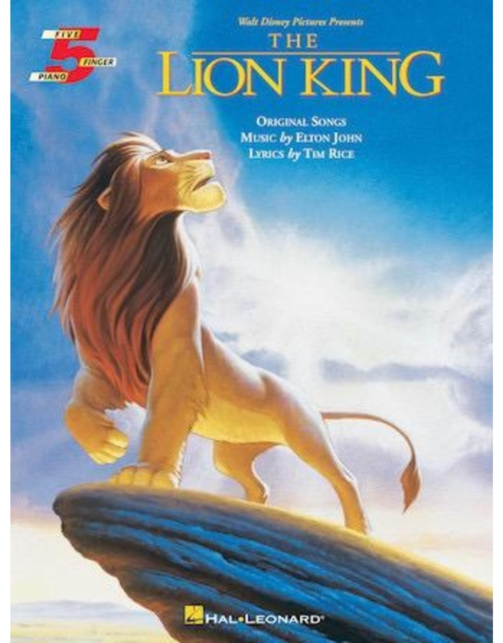 Hal Leonard Lion King Five Finger