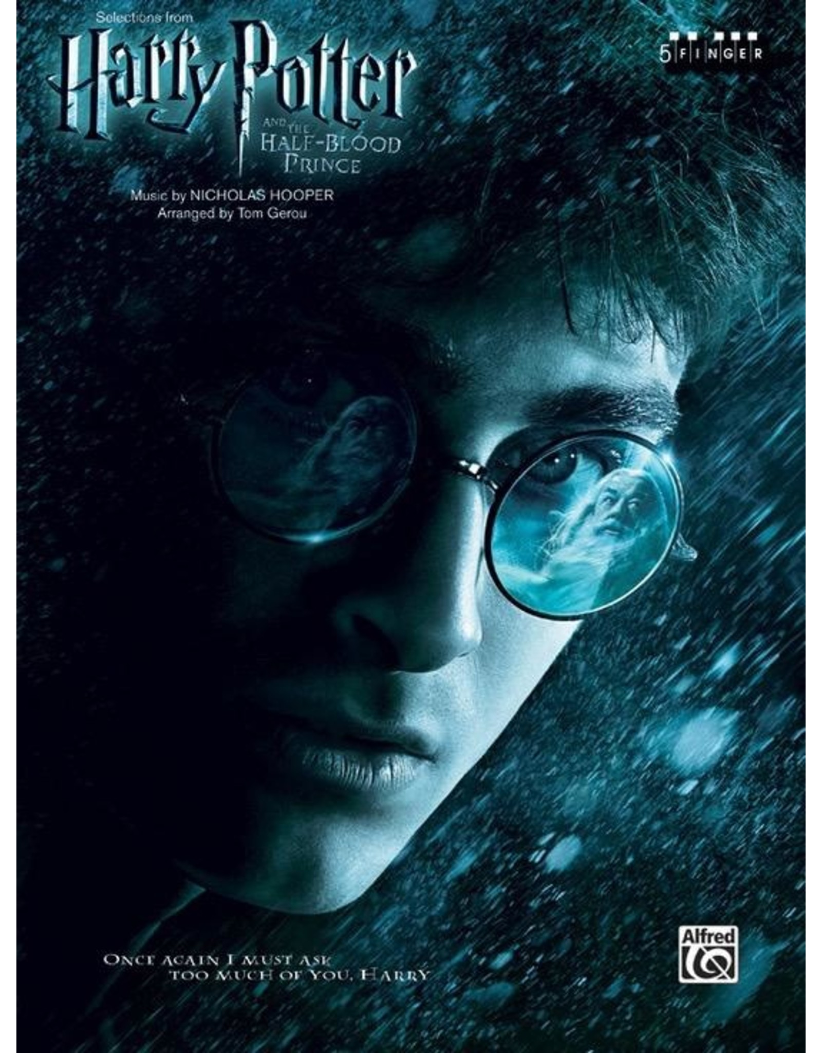 Alfred Harry Potter and the Half-Blood Prince 5 Finger