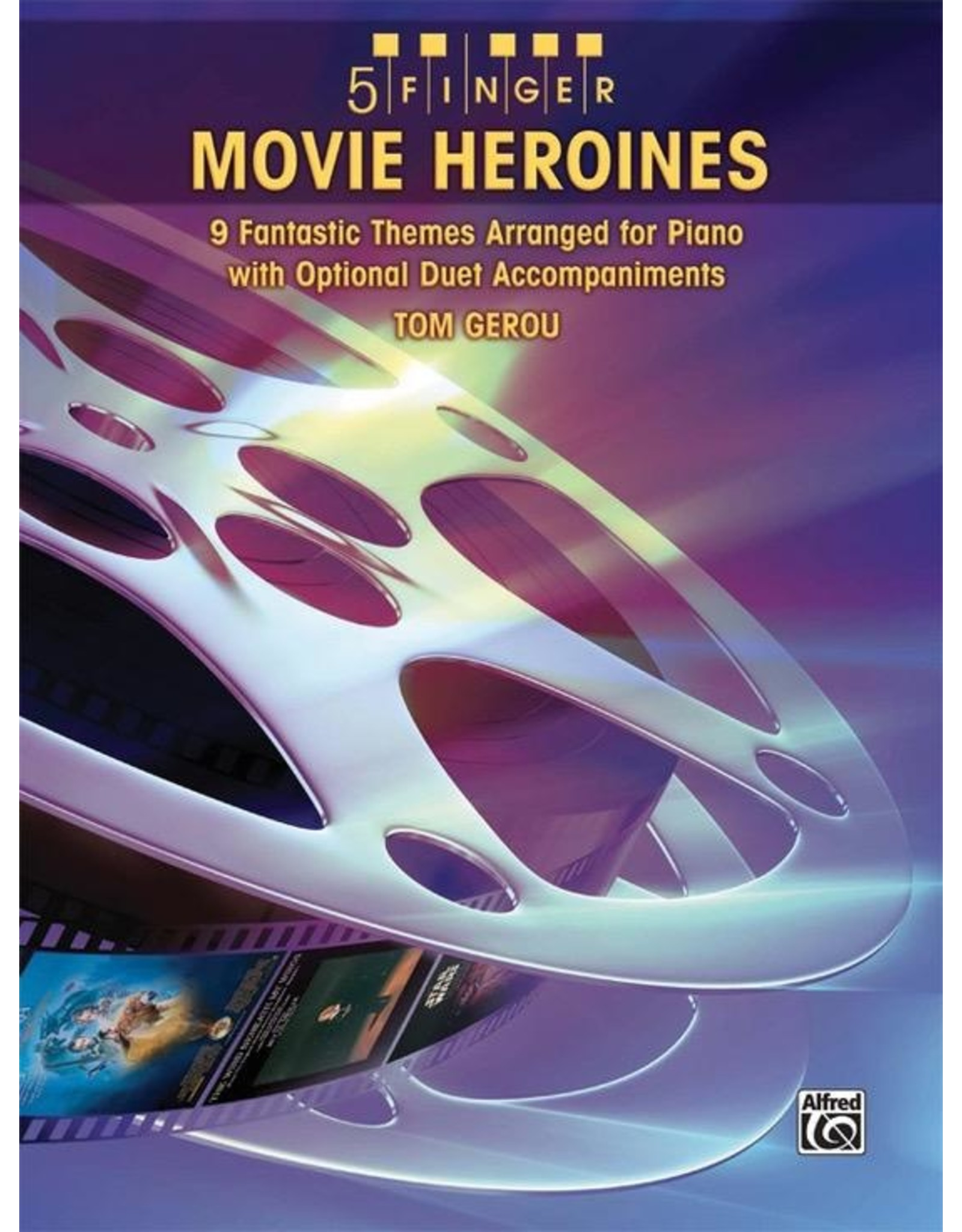 Alfred Movie Heroines arr. Tom Gerou 5 Finger