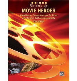 Alfred Movie Heroes arr. Tom Gerou 5 Finger